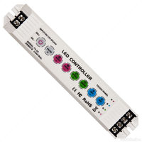 LED RGB Controller for 12 or 24 Volt Color Changing RGB LED Strip Light - FlexTec T3-5A