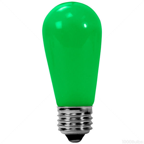 0.4 Watt - LED - S14 - Green - Diogen LBS14-M-GR Image