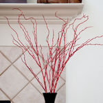 (48) LED - 3 Red Stem Twig Lights Image