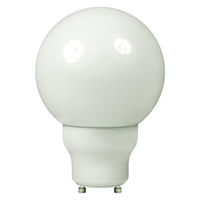 Globe CFL - 14 Watt -  60W Equal - 2700K Warm White - GU24 Base - TCP 33114G25