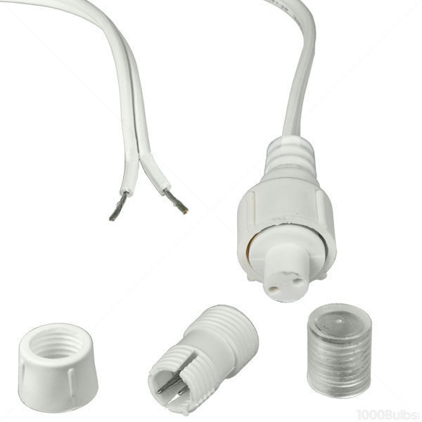 3/8 in. - 12 Volt - Incandescent - Rope Light Connector Kit Image
