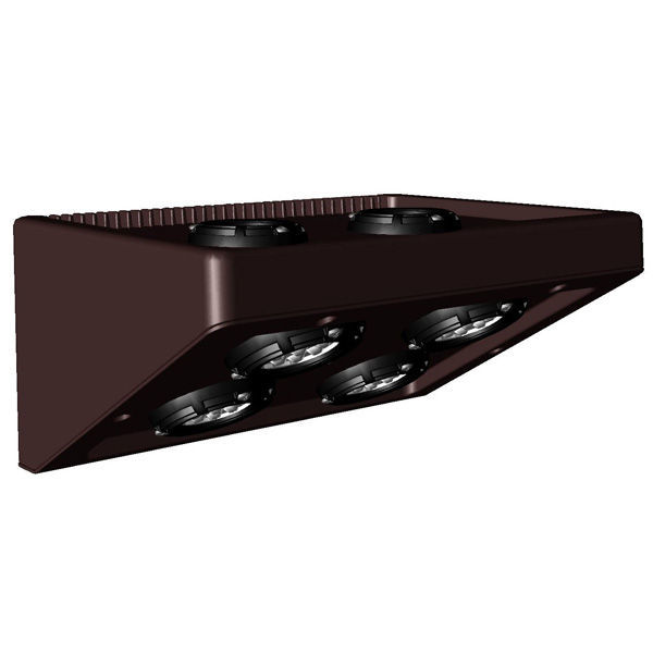 LED Wall Pack - 54 Watt - 1776/3552 Lumens Image