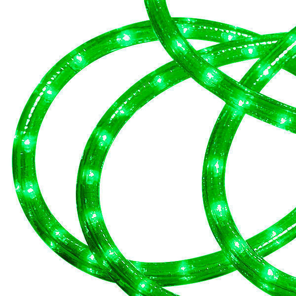 Incandescent - 24 ft. - Rope Light - Green Image