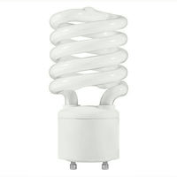 Spiral CFL - 27 Watt - 100W Equal - 2700K Warm White - GU24 Base - TCP 33127SP