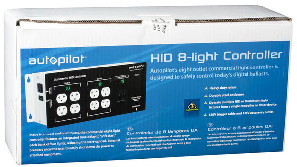 High Power HID Commercial Controller with Relay Trigger Cord Image