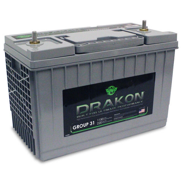 BCI Group 31 - 12 Volt - 102 Ah - AGM Battery Image