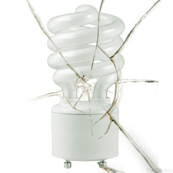 GU24 CFL - 18 Watt - 75W Equal - 2700K Warm White Image