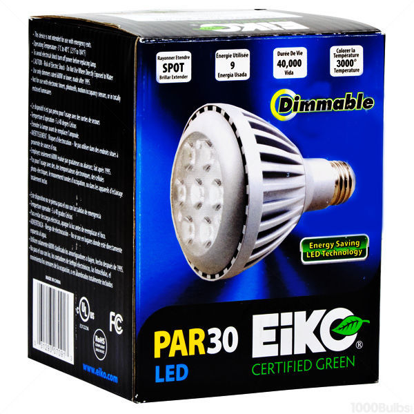 LED PAR30 Short Neck - 480 Lumens - 50W Equal Image