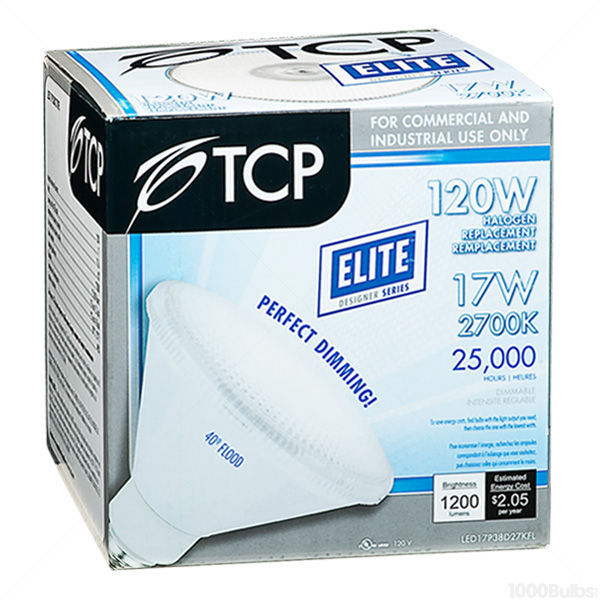 TCP LED17P38D27KFL - Dimmable LED - 17 Watt - PAR38 Image