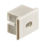 ECO MW End Cap with Hole for PDS4-ALU Channel - Works With KLUS Micro Switch - KLUS 23002