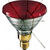 Shatter Resistant - 85 Watt - PAR38 - Flood - Red