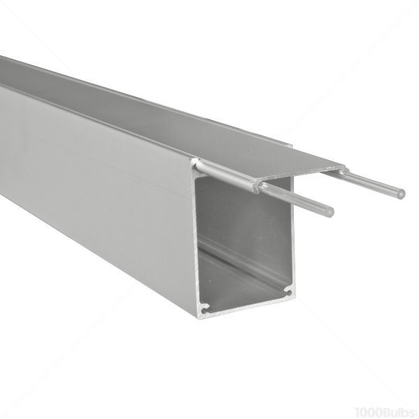 3.28 ft. Anodized Aluminum Box Extrusion Image