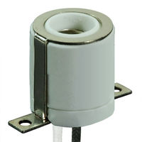 Mini Candelabra Socket - 1000 Watt - 250V Max - 8.5 Amps - 18 Gauge Leads - PLT LS25-F