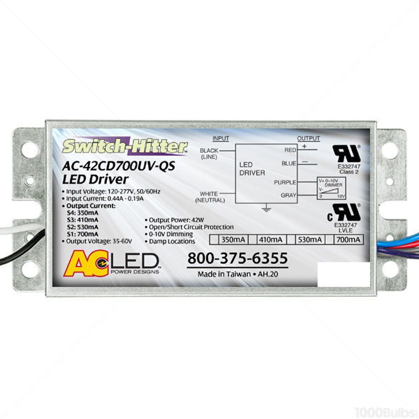 LED Driver - Dimmable - 21-42W - 350-700mA Output Current Image