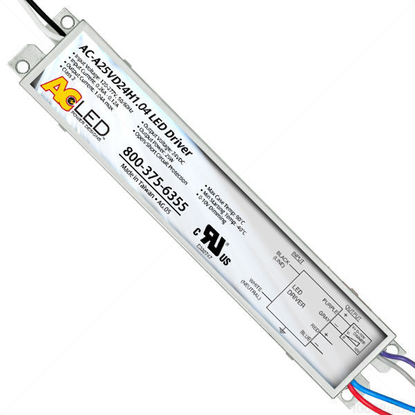 LED Driver - Dimmable - 24 Volt - 3-25 Watts Image