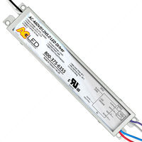 LED Driver - Operates 6-60 Watts - Dimmable - Input 120-277V - Works With 12V Output Constant Voltage Products Only