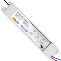 LED Driver - Operates 10-100 Watts - Input 120-277V - Works With 24V Output Constant Voltage Products Only