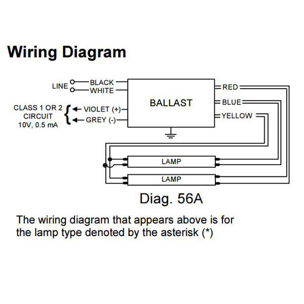 Advance Ballast Wiring Diagram : Dimmable ballast wiring diagram images