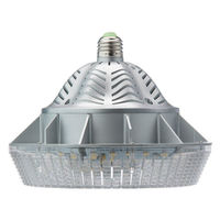 4955 Lumens - 52 Watt - LED HID Retrofit - 175W Metal Halide Equal - 4200 Kelvin - Medium Base - Universal Mount - Operates by Bypassing Existing Ballast