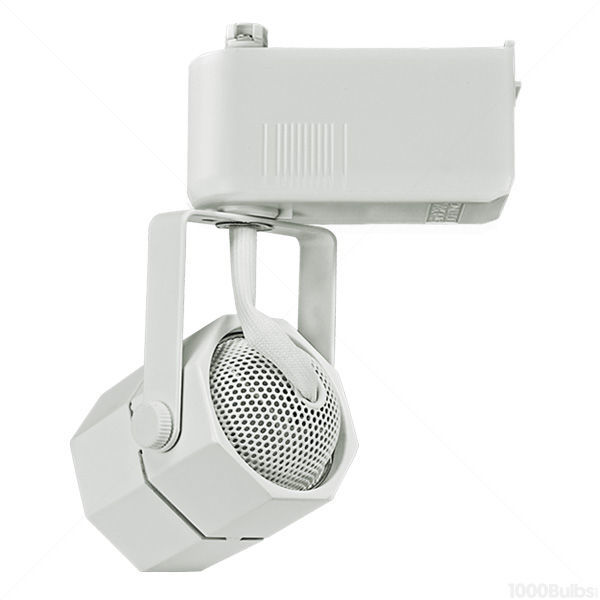 Nora NTL-201/75W - Studio Octagon Low Voltage Track Fixture - White Image