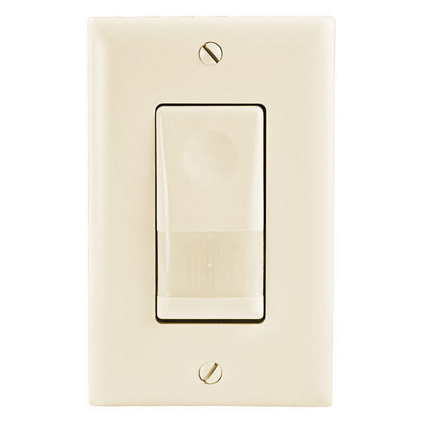 Watt Stopper Legrand WN-100-120-A - 180 Deg. PIR Occupancy Sensor with Night Light Image