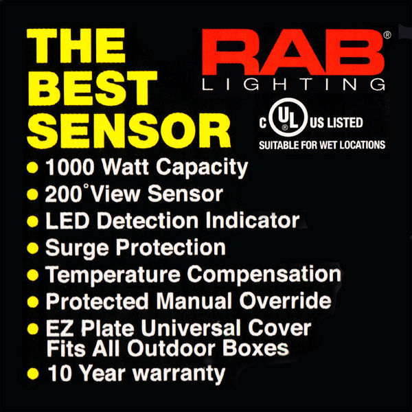 RAB STL200 - Motion-Activated Sensor Image