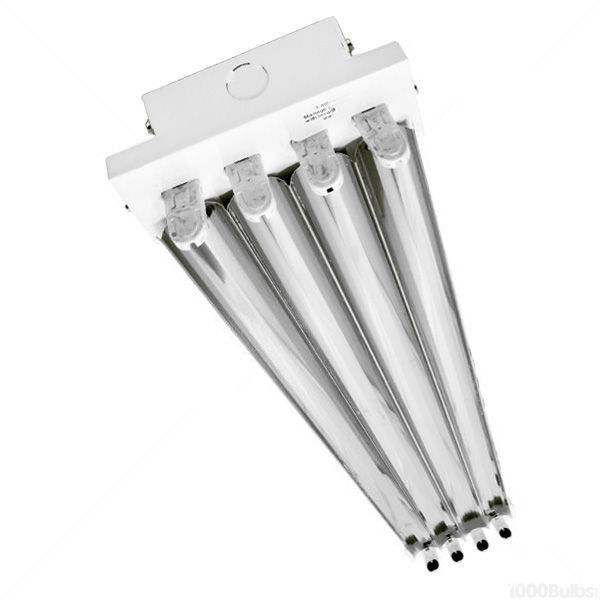 4 Lamp - F54T5 - High Output - Fluorescent High Bay Image