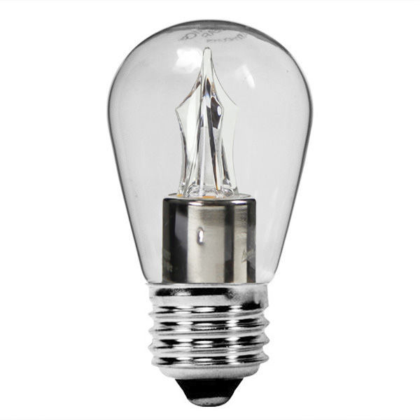 2 Watt - Dimmable LED - S14 - Clear - 2700K Image