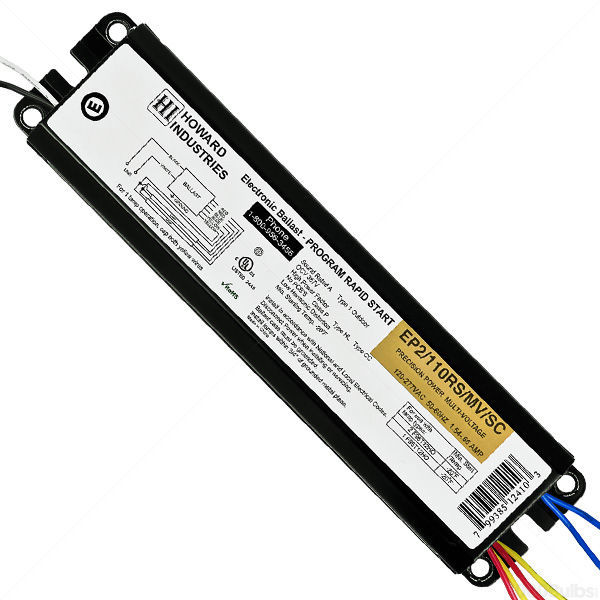 Howard EP2/110RS-MV - T12 Fluorescent Ballast -120/277V