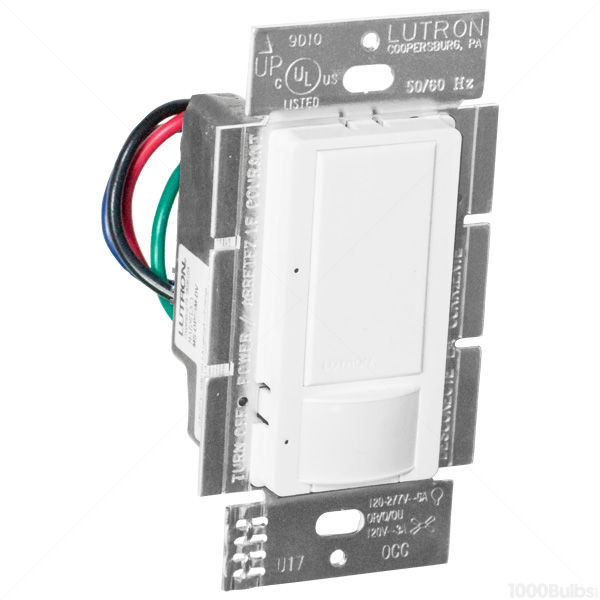 Lutron Maestro MS-PPS6-DDV-WH - White - Passive Infrared (PIR) Image