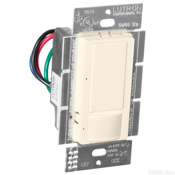 Lutron Maestro - PIR Occupancy/Vacancy Sensor - Light Almond Image