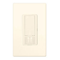 Light Almond - Passive Infrared (PIR) Dual-Circuit Occupancy/Partial On Sensor - 6 Amp Max. - 120-277 Volt - Ground Required