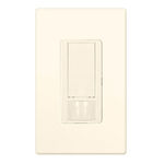 Lutron Maestro - PIR Vacancy Sensor with Dimmer - Light Almond Image
