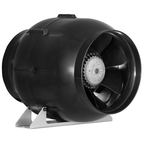 Max-Fan CF340425 - High Output - 3-Speed - In-Line Fan - 8 in. Image
