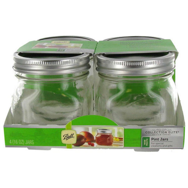 1 pt. - Collection Elite Wide Mouth Jars Image
