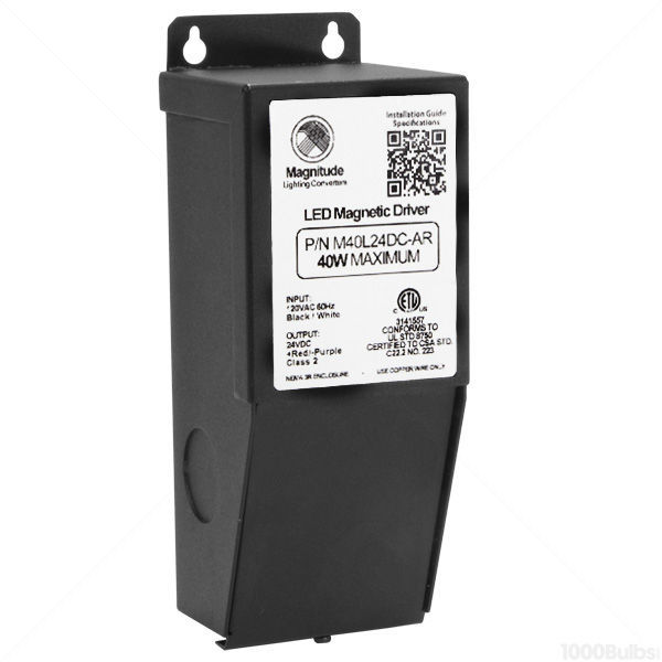 LED Driver - Dimmable - 24 Volt - 0-40 Watt Image