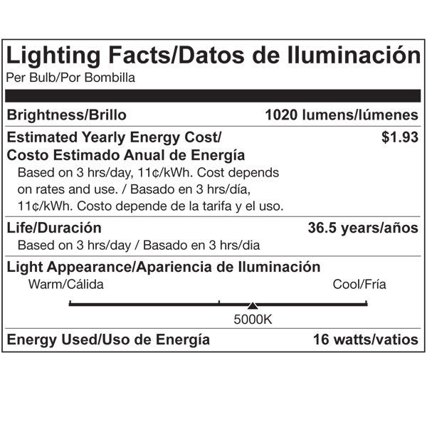 LED - PAR38 - 16 Watt - 1020 Lumens Image