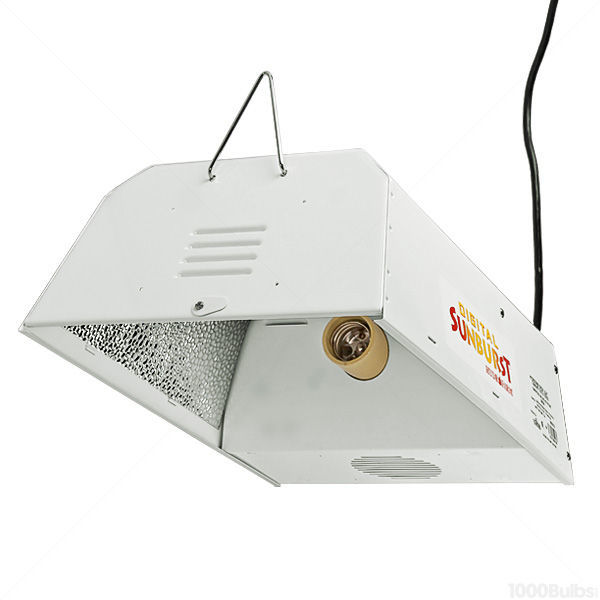 400 watt digital sunburst grow light reflector kit image