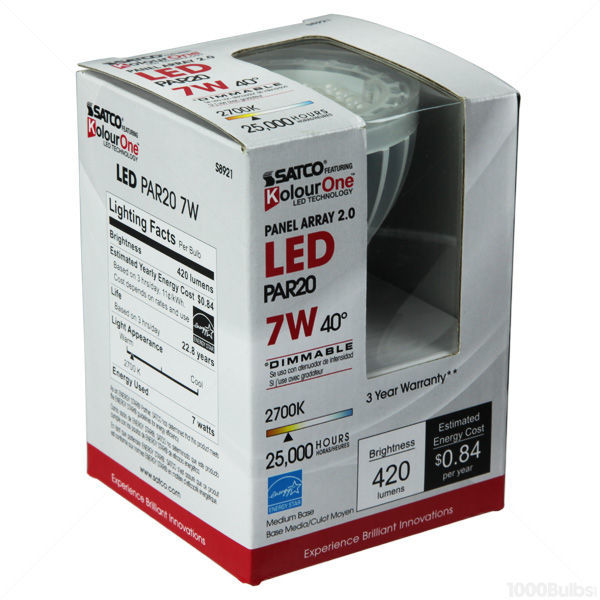 LED - PAR20 - 7 Watt - 30W Equal Image
