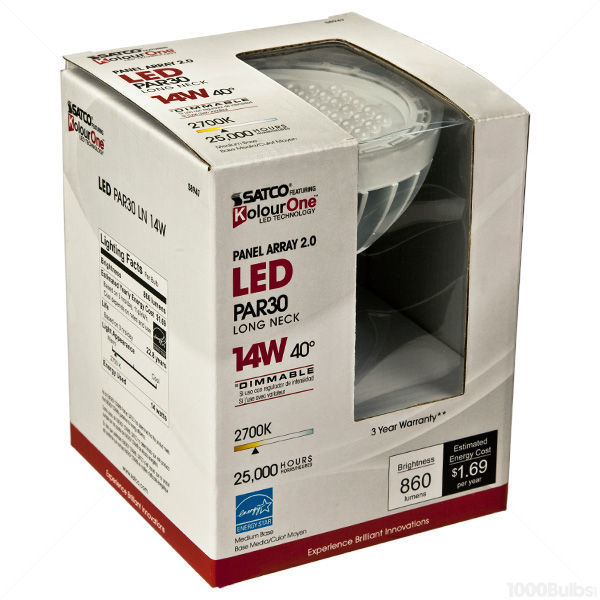 LED - PAR30 Long Neck - 14 Watt - 860 Lumens Image
