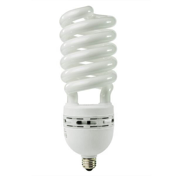 Spiral CFL - 105 Watt - 420W Equal - 5000K Full Spectrum Image