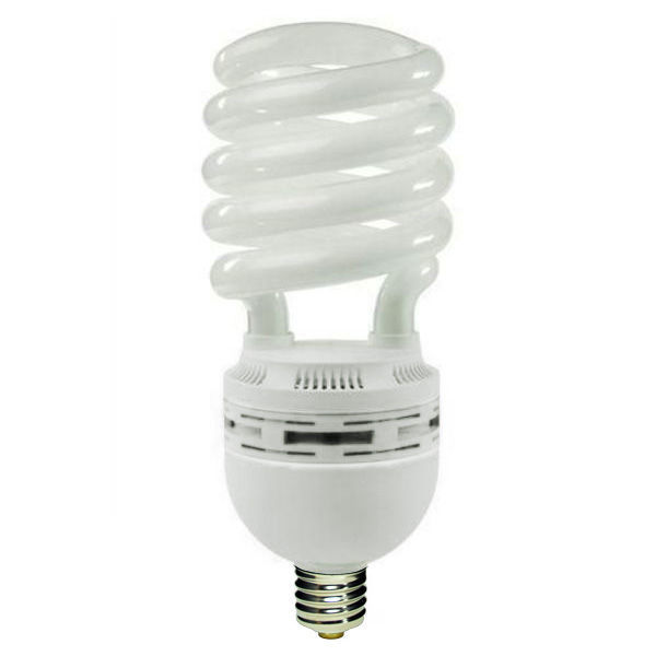 Spiral CFL -  85Watt - 400W Equal -  5000K Full Spectrum Image