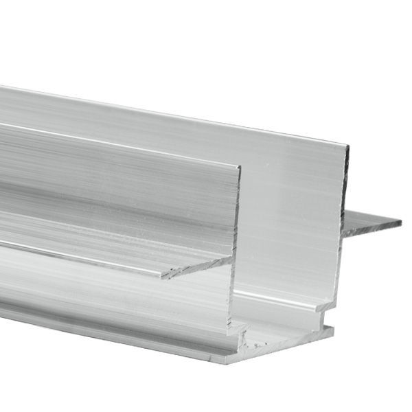 6.56 ft. Anodized Aluminum TEKNIK Drywall Channel Image