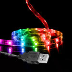 USB LED Tape Light - RGB Color Changing Image