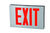 LED Exit Sign - Die Cast Aluminum - Red Letters