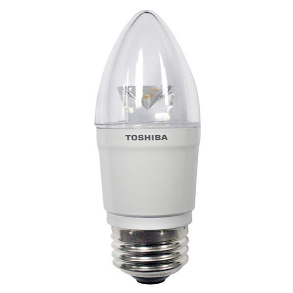 LED - 3.8 Watt - Clear Straight Tip Torpedo - 25 Watt Equal Image