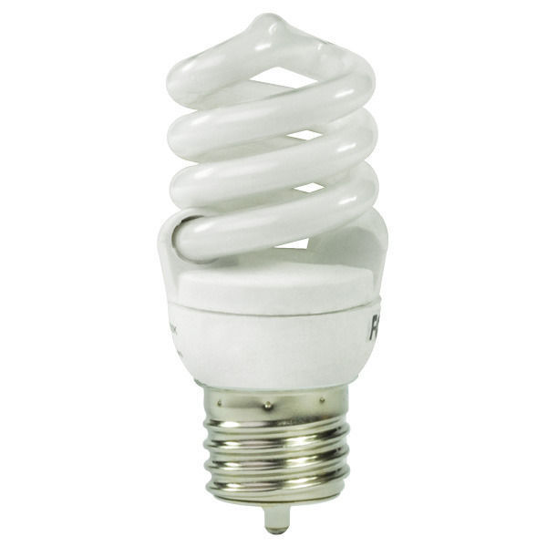 T2 Spiral CFL - 15 Watt - 60W Equal - 4100K Cool White Image
