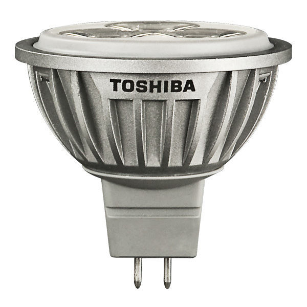 Toshiba 6MR16/830SP8 - 6.2 Watt - LED - MR16 - 25 Watt Equal Image