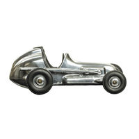 9.75 in. Length - Hornet - 1940s Racer Replica - Silver - Authentic Models PC015