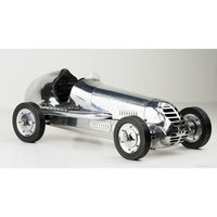20.75 in. Length - BB Korn - 1930s Racer Replica - Silver - Authentic Models PC013R